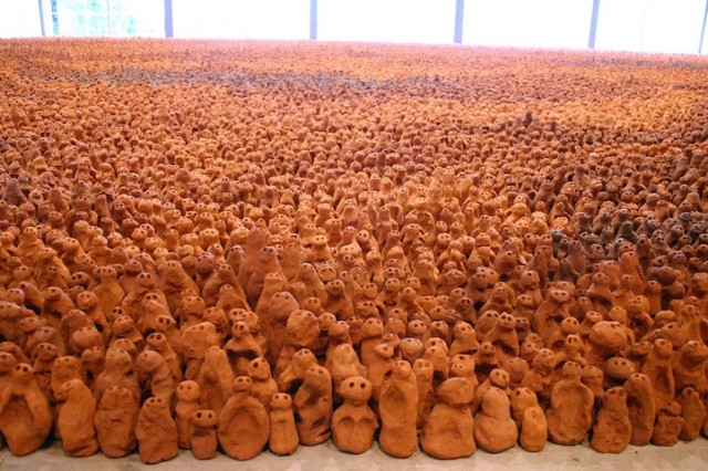 Anthony Gormley, Field, 1991-2012